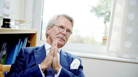 Bjørn Wahlroos, styreleder i forsikringskonsernet Sampo Group, som blant annet står bak If forsikring, er en av Finlands og Sveriges største finansaktører.