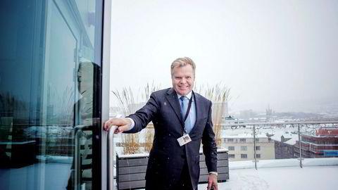 Gunnar Bjørkavågs avgang i vinter tynger resultatene for første kvartal i NHST Media Group.