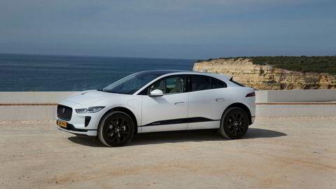 Jaguar I-Pace var i juni den niende mest solgte saken i Norge.