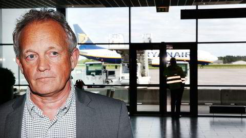 – Ikke særlig håp nå, sier Rygge-sjef Pål F. Tandberg, som tror sivil trafikk forsvinner. Foto: Frode Hansen/VG/NTB Scanpix