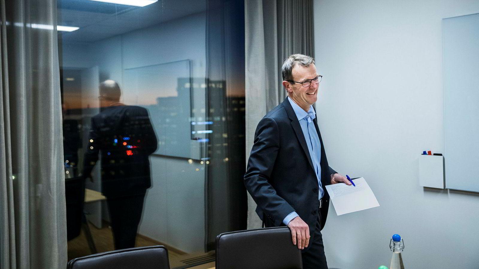 Pareto-eier i dobbeltrolle. Svein Støle er gjennom sitt Pareto as en av børsen største eiere.