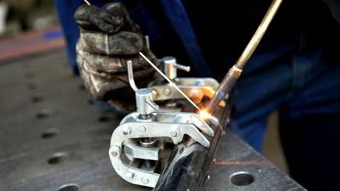 Innkjøpssjefindeksen Norsk PMI varsler økende aktivitet i industrien. Illustrasjonsfoto