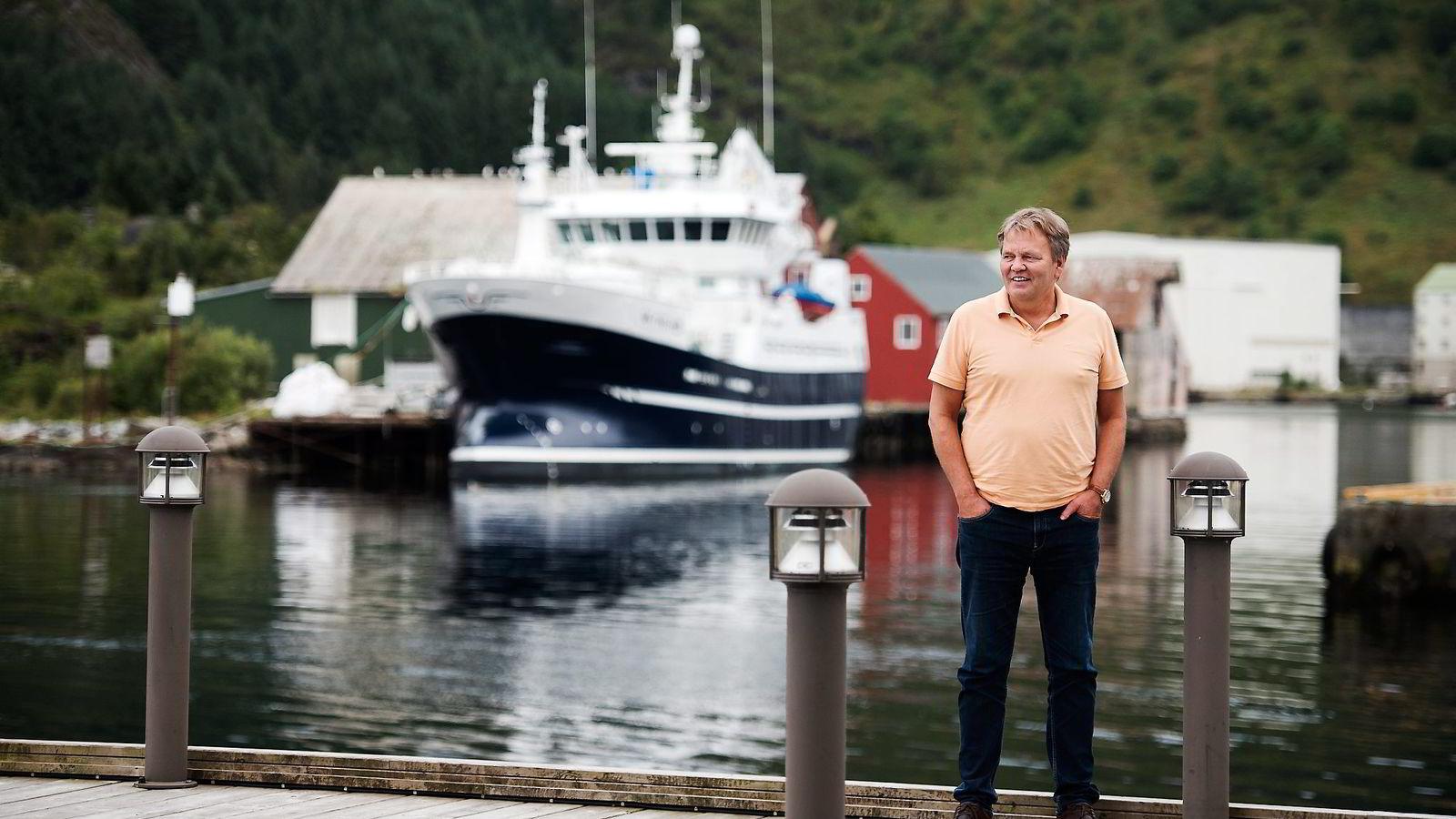 Styreleder og hovedaksjonær Stig Remøy i Olympic Shipping mener lokalt eierskap i offshorerederiene er viktig for å bevare den maritime klyngen på Sunnmøre.