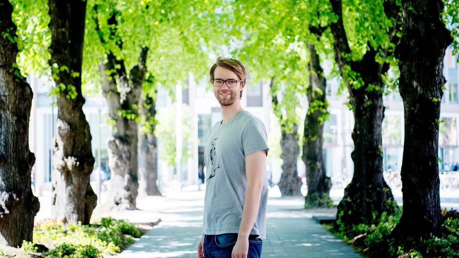 Benjamin Ree jobber heltid som dokumentarist i VGTV. Han håper «Magnus»-suksessen kan åpne dører for nye prosjekter. Begge foto: Mikaela Berg