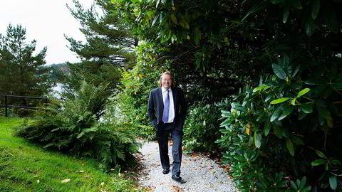 Berge Gerdt Larsen er frikjent – nå starter arbeidet med søksmål. Det er tidligere antydet et ønske om en erstatning i hundremillionersklassen. Foto: Per Thrana