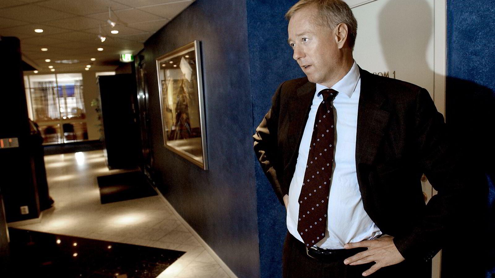 Tom Hugo Ottesen er bostyrer og bekrefter at Bandak Group er konkurs. Foto: Per Ståle Bugjerde