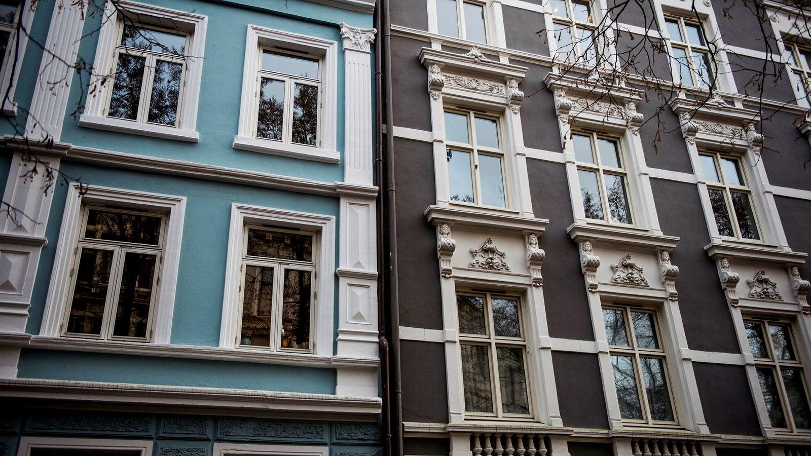 De fem siste årene har prisene på bolig i hovedstaden steget med 43,3 prosent, ifølge tall for Eiendom Norge. Illustrasjonsbilde.
