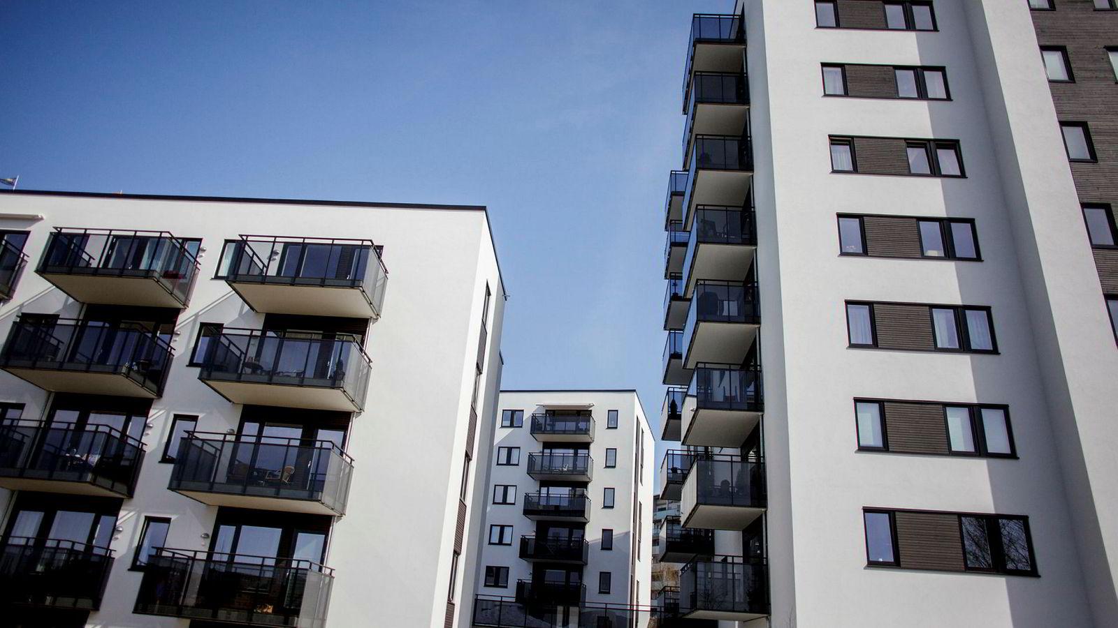 Illustrasjonsfoto, nye boliger på Løren i Oslo.