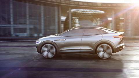 Volkswagen I.D. Crozz debuterte i Shanghai og viser en mulig elektrisk suv fra Volkswagen.
