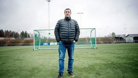 Her begynte det. Siden Tom Nordlie startet som trener for Lørenskog her på Rolvsrud stadion tidlig på 1990-tallet, har han trent et titall norske toppklubber. Foto: Mikaela Berg