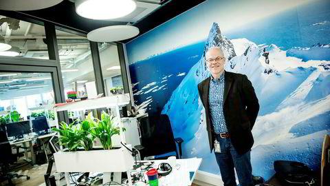Jan Grønbech driver Google Norge fra kontorer på Aker Brygge.