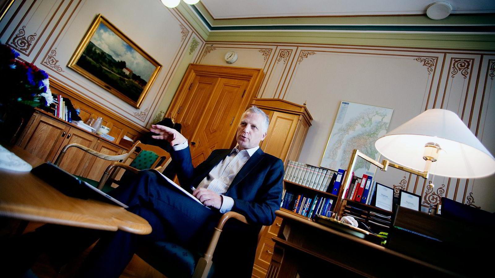 NORSK. – Det som er viktig for meg, er å ivareta kompetansen som ligger i Kværner-systemet og at man sørger for at det blir på norske hender, sier Frps næringspolitiske talsmann, Øyvind Korsberg.