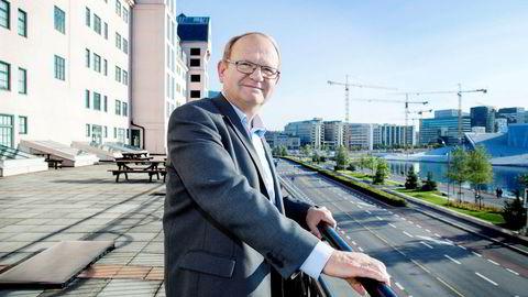 Per Einar Ruud, kredittøkonom i kredittanalyseselskapet Bisnode Foto: Øyvind Elvsborg
