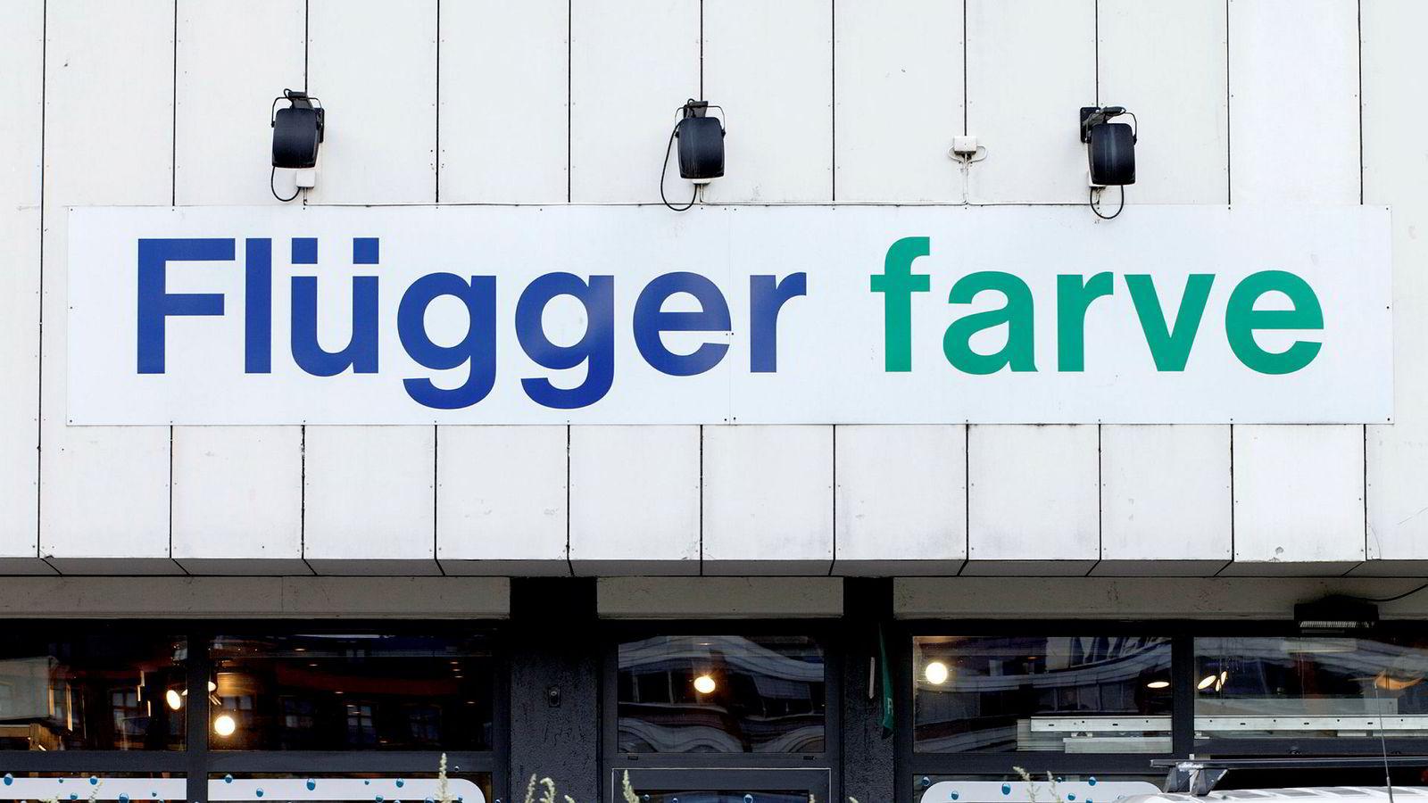 Det danske malingsselskapet Flügger fikk et underskudd før skatt på 21 millioner kroner i Norge forrige regnskapsår.