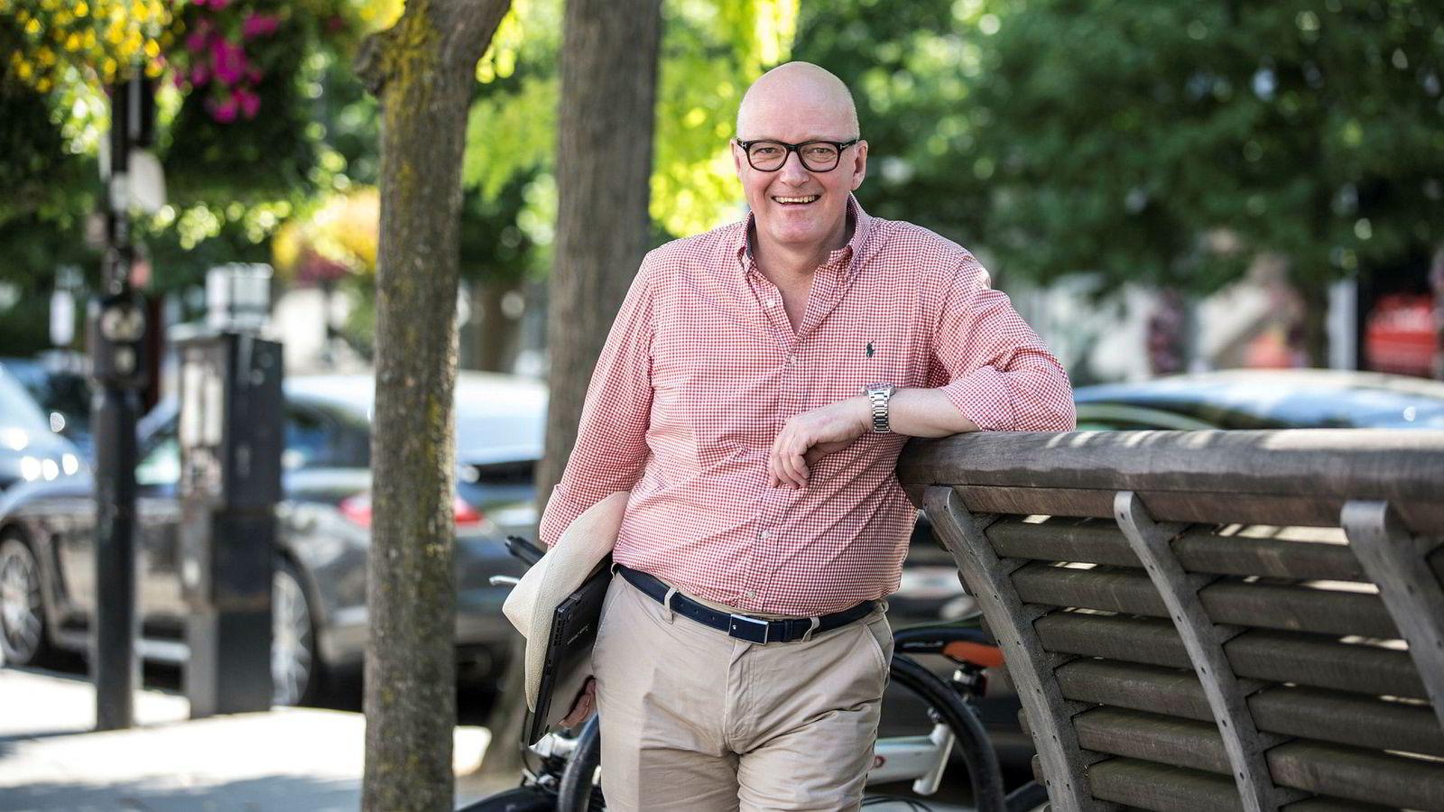 Hans Frode Kielland Asmyhr mener sjansene for en brexit-avtale har økt, men han frykter fremdeles grensetrøbbel.