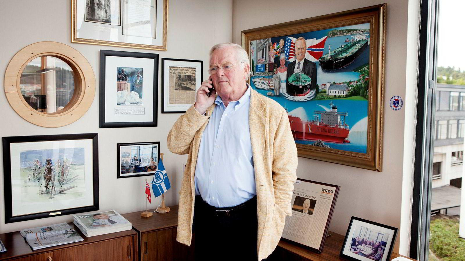Herbjørn Hanssons familieselskap High Seas har i det siste kjøpt seg noe opp i Photocure.
