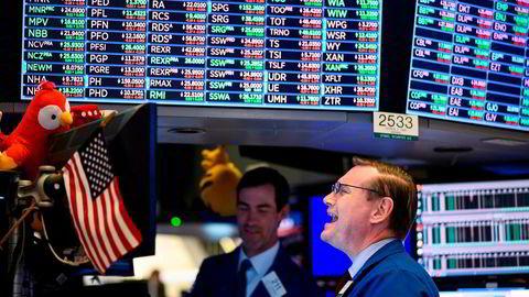 De tre nøkkelindeksene på Wall Street har falt i snitt 3,5 prosent den siste måneden. Sydbanks aksjeanalysesjef Jacob Pedersen tror det er nettopp her på Wall Street avkastning blir å finne fremover.