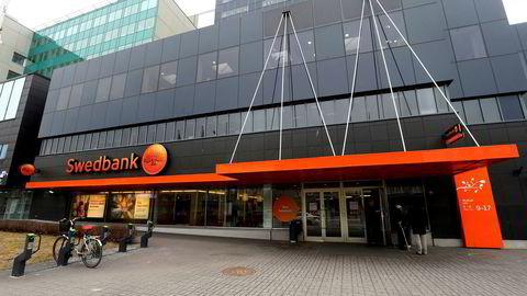 Mange av problemene for Swedbank stammer her fra Swedbank i Estlands hovedstad Tallin.