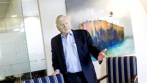 FOKUS PÅ SHIPPING. John Fredriksen øker innsatsen mot transport av flytende gass. Foto: