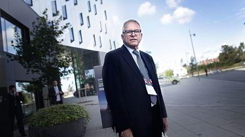 Strategidirektør John Knight i Statoil har hatt ansvaret for selskapets store salg på norsk sokkel. Foto: