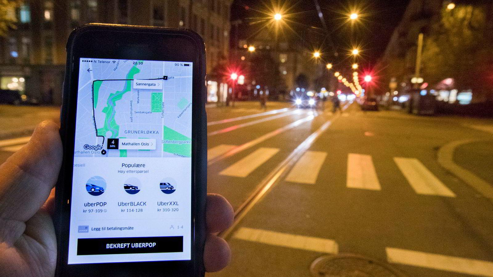 Uber Pop har siden oktober vært satt på hold i Norge.