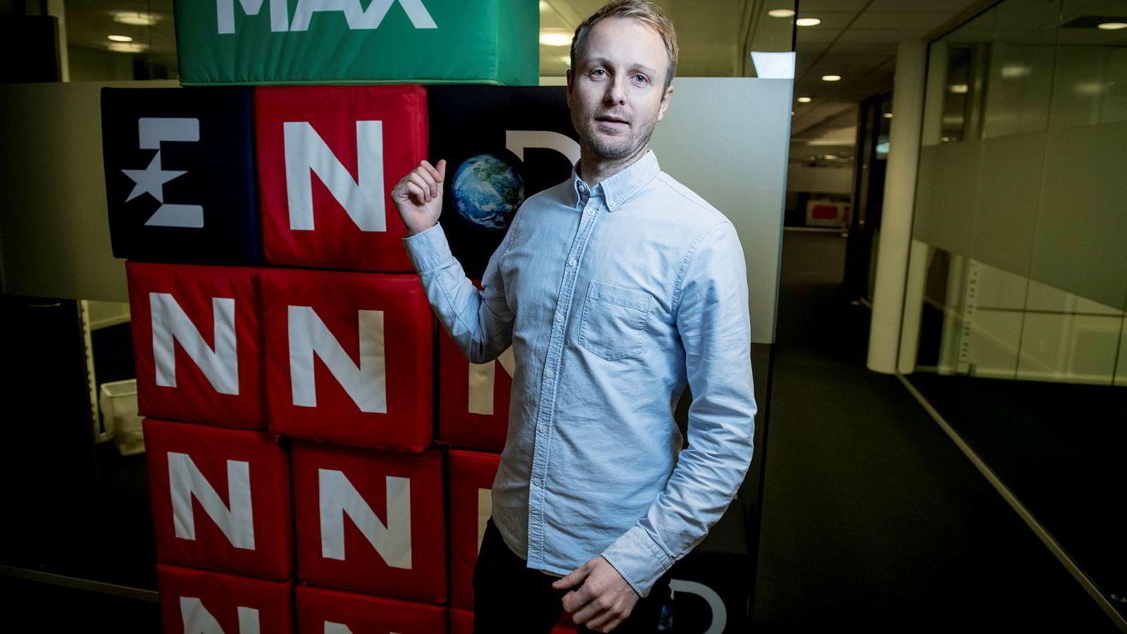 Espen Skoland, nordisk kommunikasjonsdirektør i Discovery Networks.