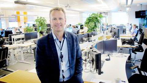 Administrerende direktør Anders Gaudestad i Agder Energi-eide LOS mer enn dobler omsetningen etter kjøpet av svenske Telge Kraft. Foto: Harald Berglihn