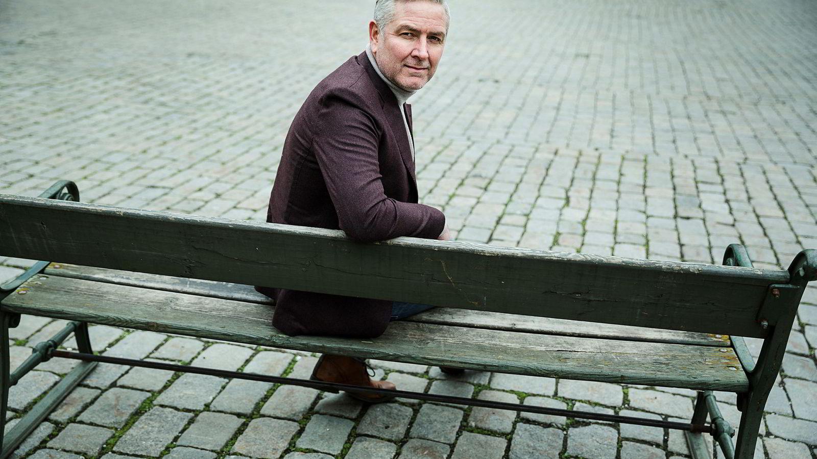 Gammel nok-gründer Truls Nordby Johansen.