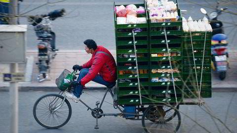 Kinas eksport fikk et løft i mars, men ikke alle er like imponert. Foto: Wang Zhao/AFP Photo/NTB scanpix