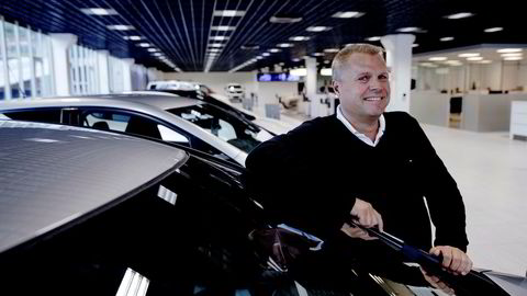 Frode Sande hos bilforhandleren Sande Auto i Åsane utenfor Bergen hadde best margin i bilbransjen i 2018.
