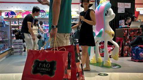 Shopping i Kina ligger et hode foran resten av verden. Kunder kan nå betale for seg kun ved å vise ansiktet.