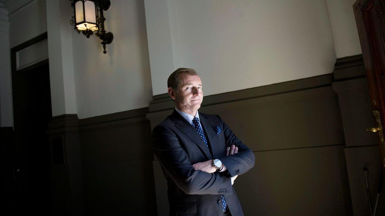 Carl O. Geving, administrerende direktør i Norges Eiendomsmeglerforbund.