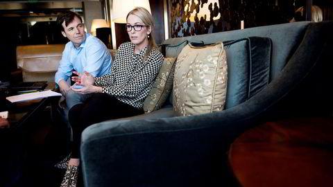 Administrerende direktør i Innovasjon Norge Anita Krohn Traaseth og gründerdirektør Pål T. Næss deler hvert år ut store summer for å støtte gründere og oppstartsbedrifter. Med Snapsale gikk det ikke slik Innovasjon Norge hadde håpet. Foto:
