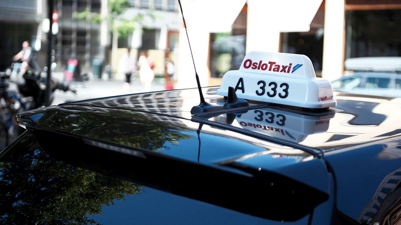 Sp og Taxiforbundet frykter at ny lov vil medføre at taxiyrket kan forsvinne.