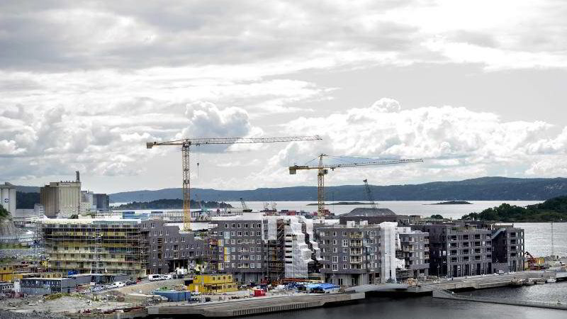 Sørenga er et av flere nye og populære boligprosjekter i Oslo.