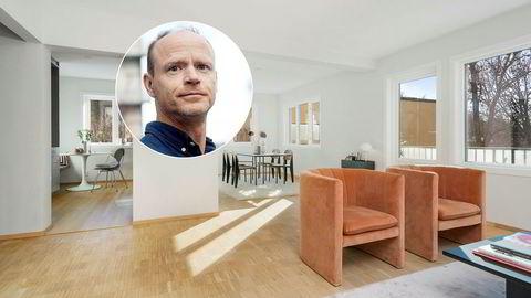 Harald Eia og samboeren pusset opp hele boligen i Vallegata 13 før de solgte den.