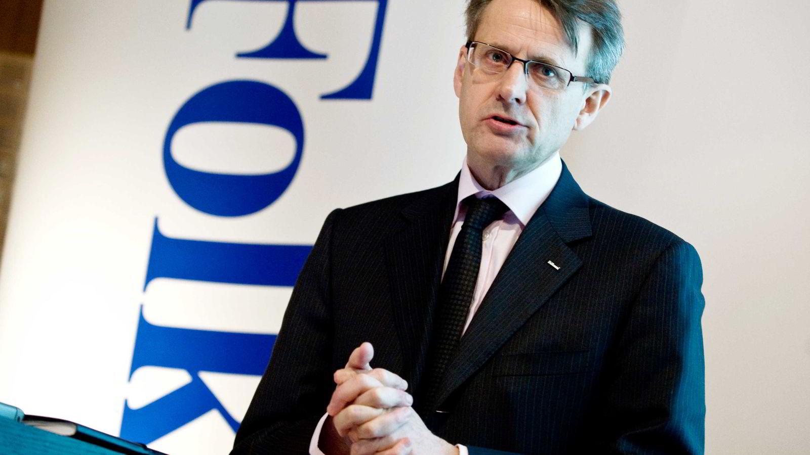 Onsdag ble det kjent at Anders Sundström blir kastet som styreleder i Swedbank. Foto: Claudio Bresciani/