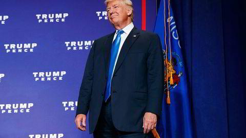 Republikanernes presidentkandidat,  Donald Trump. Foto: Evan Vucci/AP/NTB Scanpix