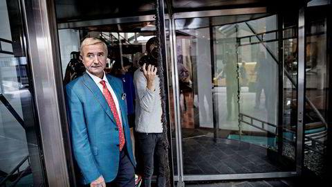 Norske Skogs største aksjonær og styreleder Christen Sveaas har akkurat fått et nytt forslag til redningsplan for selskapet.