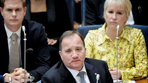 Stefan Löfven ble stemt ut av embetet etter høstens valg i Sverige, og har mislykkes i påfølgende regjeringssonderinger.