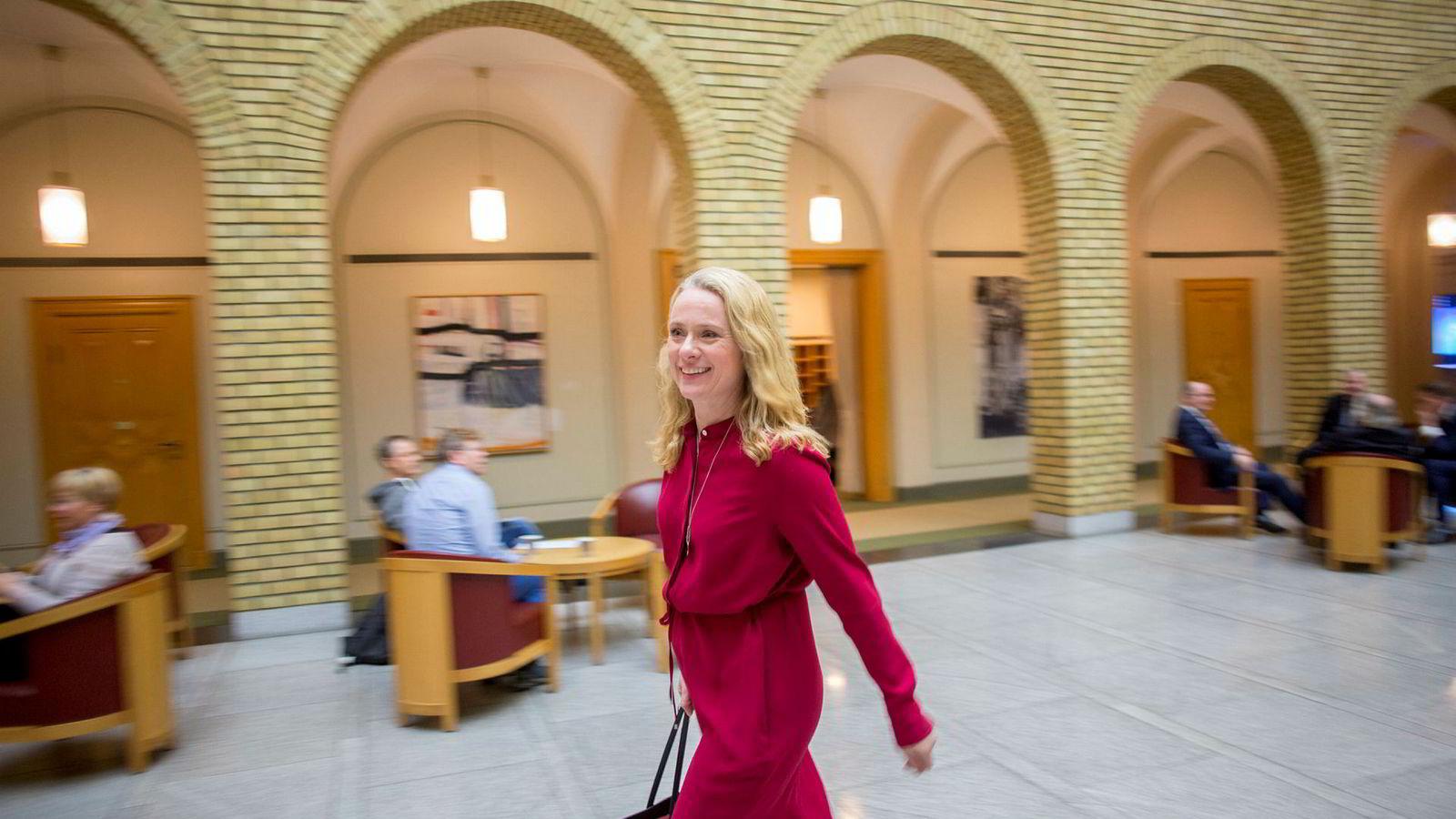 En ny IA-avtale skal være klar til undertegning hos arbeids- og sosialminister Anniken Hauglie.