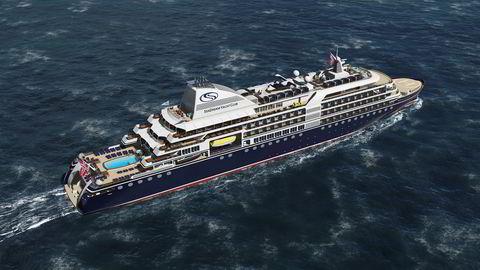 «SeaDream Innovation» skal bli det mest miljøvennlige cruiseskipet i verden når det forlater verftet i Romania om drøyt to år.