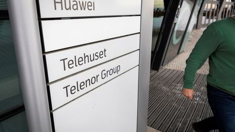 Huawei har lokaler i Telenors bygg på Fornebu. Nå tester Telenor 5G på Fornebu med Ericssons utstyr.