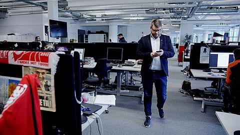 BAs ansvarlige redaktør Sigvald Sveinbjørnsson vurderer å trekke seg fra Media City etter kun to år – på grunn av for lite plass i BAs lokaler.