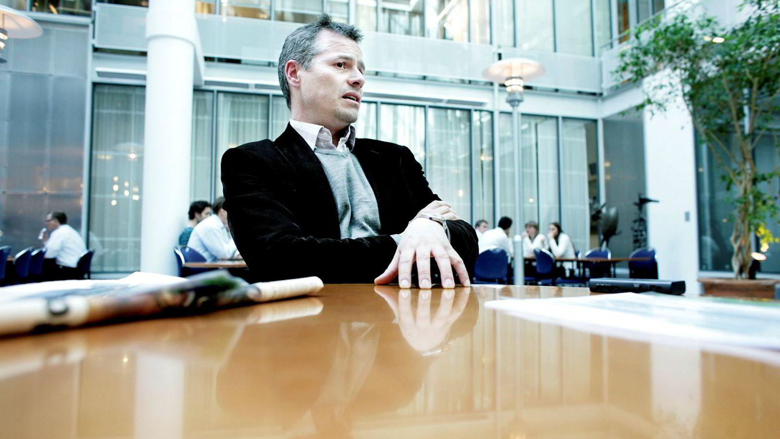 Sjef Viktor E. Jakobsen i EAM Solar.