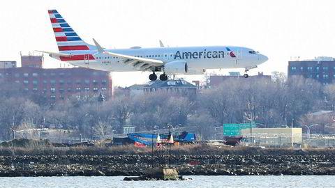 Boeing 737 Max 8-flyene til American Airlines er trolig i luften igjen fra 16. januar.