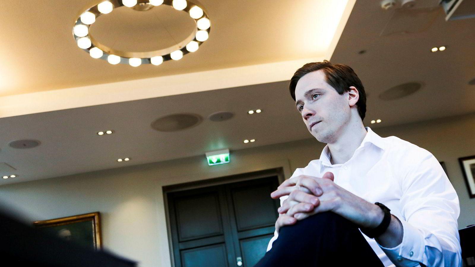 Tomas Johansson forvalter Skagens nye aksjefond Skagen Insight – som de kaller et «skyggeaktivistfond» fordi det skal følge de beste aktivistkampanjene globalt og investere parallelt med 30–40 av dem.