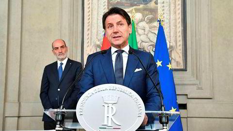 Til tross for krevende regjeringsforhandlinger varsler Giuseppe Conte at han vil være klar med en ny regjering i Italia innen onsdag.