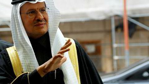 Saudi-Arabias energiminister Prins Abdulaziz bin Salman mener etterspørselen er på vei tilbake etter å ha falt kraftig under koronakrisen.