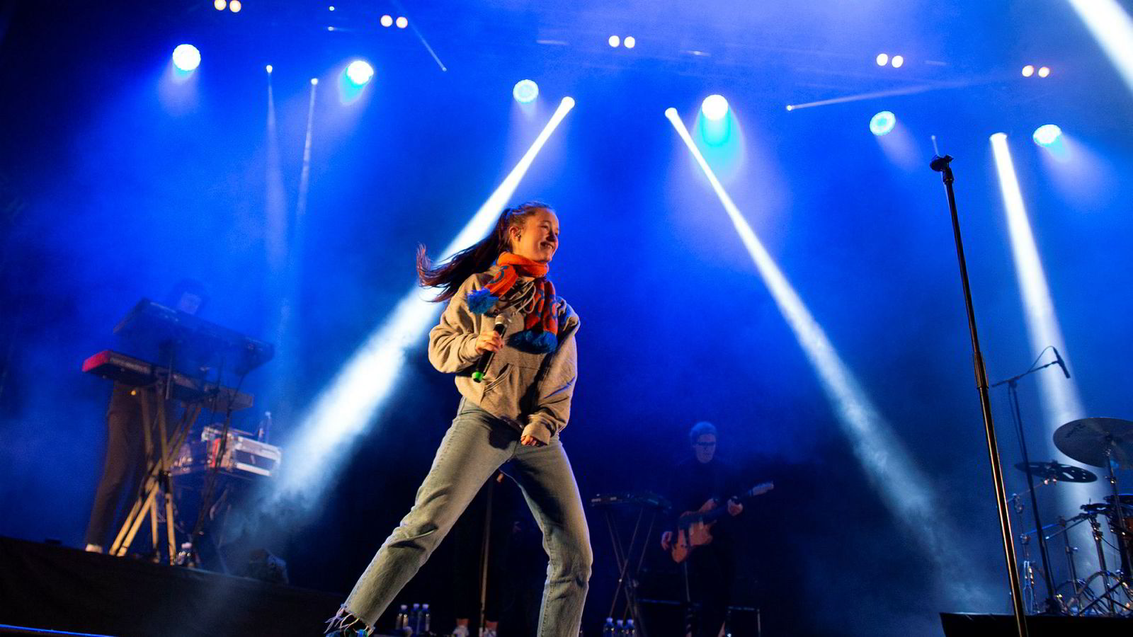 Popstjernen Sigrid spiller på en rekke norske musikkfestivaler denne sommeren.